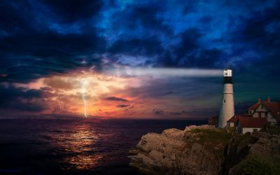 Being the lighthouse